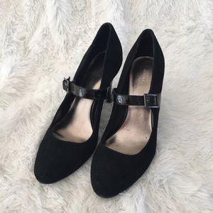 Merona Patent Strap Heels